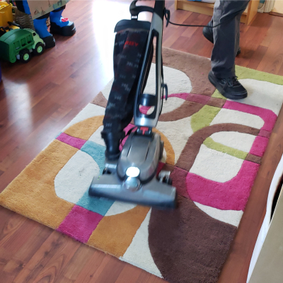 green carpet cleaning