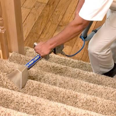 stair carpet claening