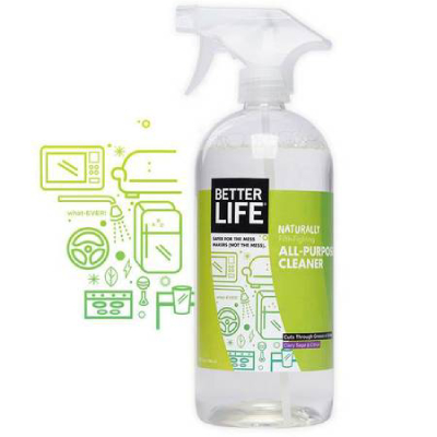 naturally green cleaning solution
