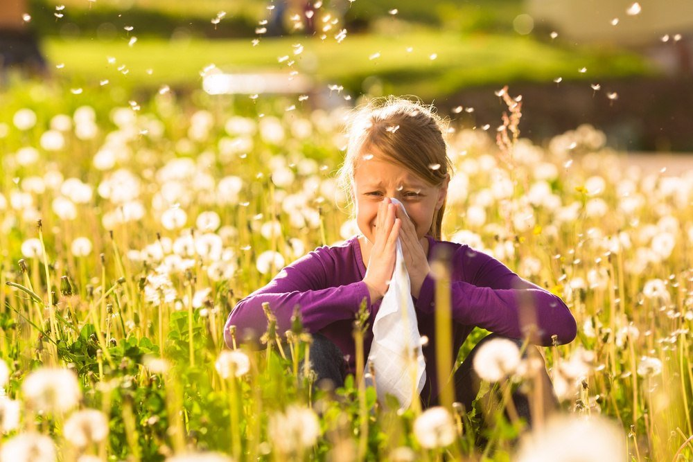 When you experience hay fever or allergies sneezing is a common problem